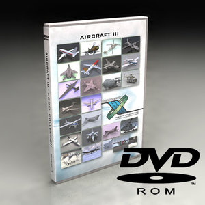 aircraft dvd iii 3d model