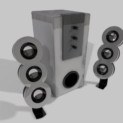 3d pc speakers