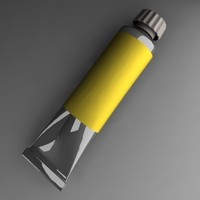 3ds max oil tube painting