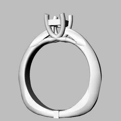 wedding band jewel 3d 3dm