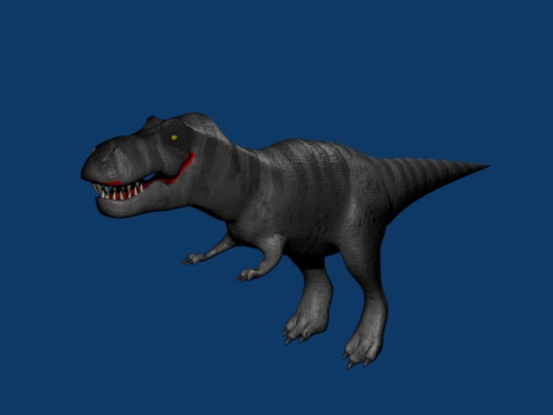 free tyrannosaurus rex 3d model