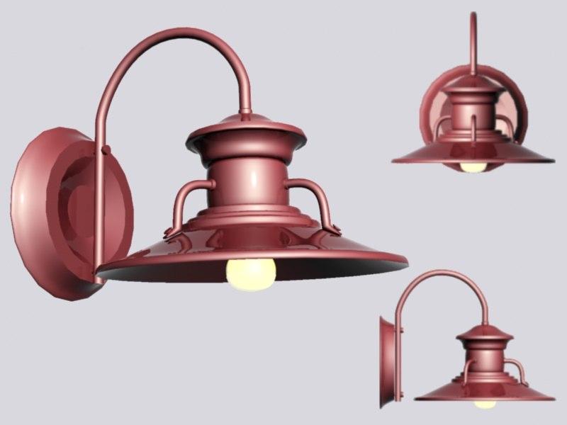 max rustic lamp