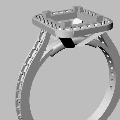 wedding band jewel 3d model
