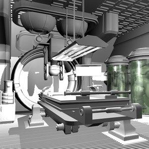 c4d interior laboratory