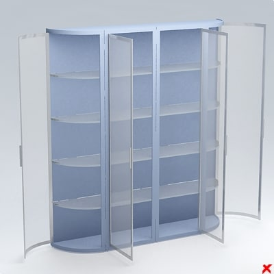 3d cabinet display