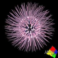 3d retro virus model