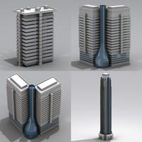 3ds max skyscraper ii