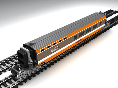 3d tgv high-speed train 1st