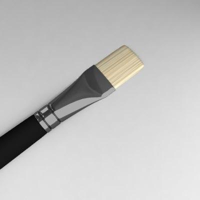 3ds max paint brush
