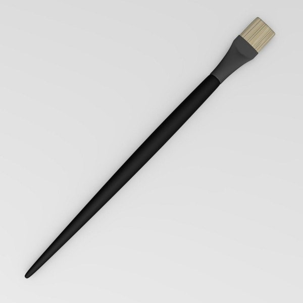 3d model paint brush