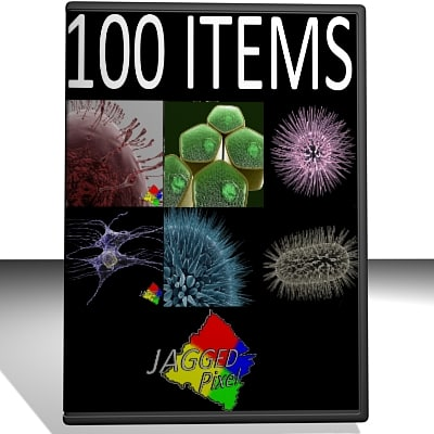 3ds max micro 100 objects cells