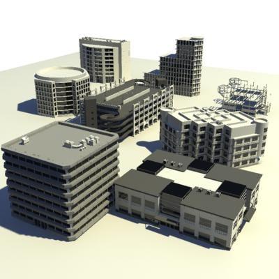 3d skyscraper building model