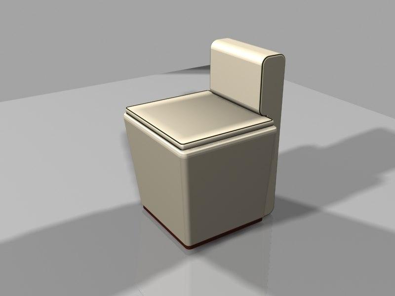 modern chair 3d max