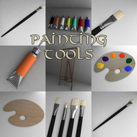 3d model painting tools