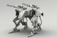 lightwave gun robot