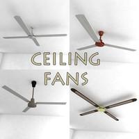 ceiling fans 3d 3ds