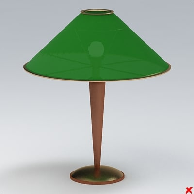 3d 3ds lamp