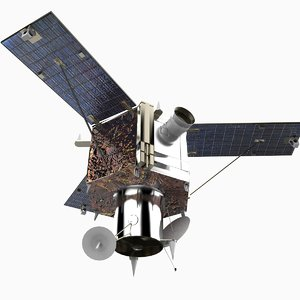 3d model ikonos satellite