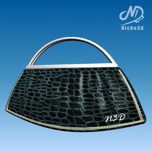 3ds max fashion designer bag -