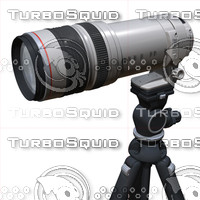 400mm lens 3d c4d
