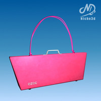 Designer Bag - Ozoc Hard Case Bag Pink