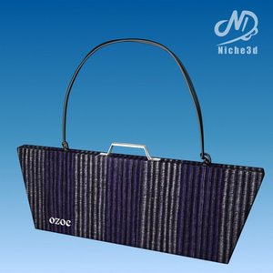 3d fashion designer bag - model