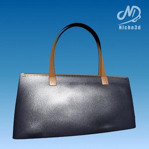 3d fashion designer bag -