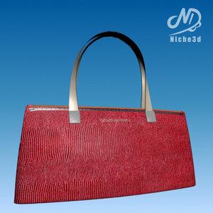 fashion designer bag - 3d 3ds