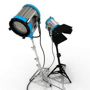 3ds max professional studio lights arri