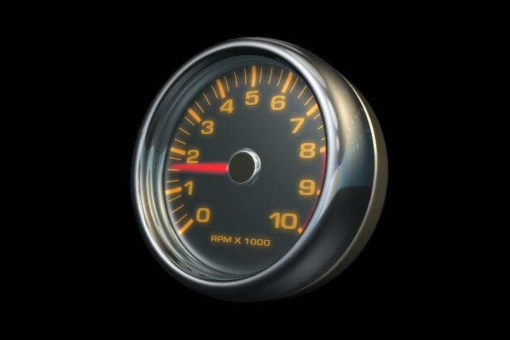 3d model tachometer