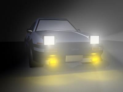 trueno takumis initial 3d model
