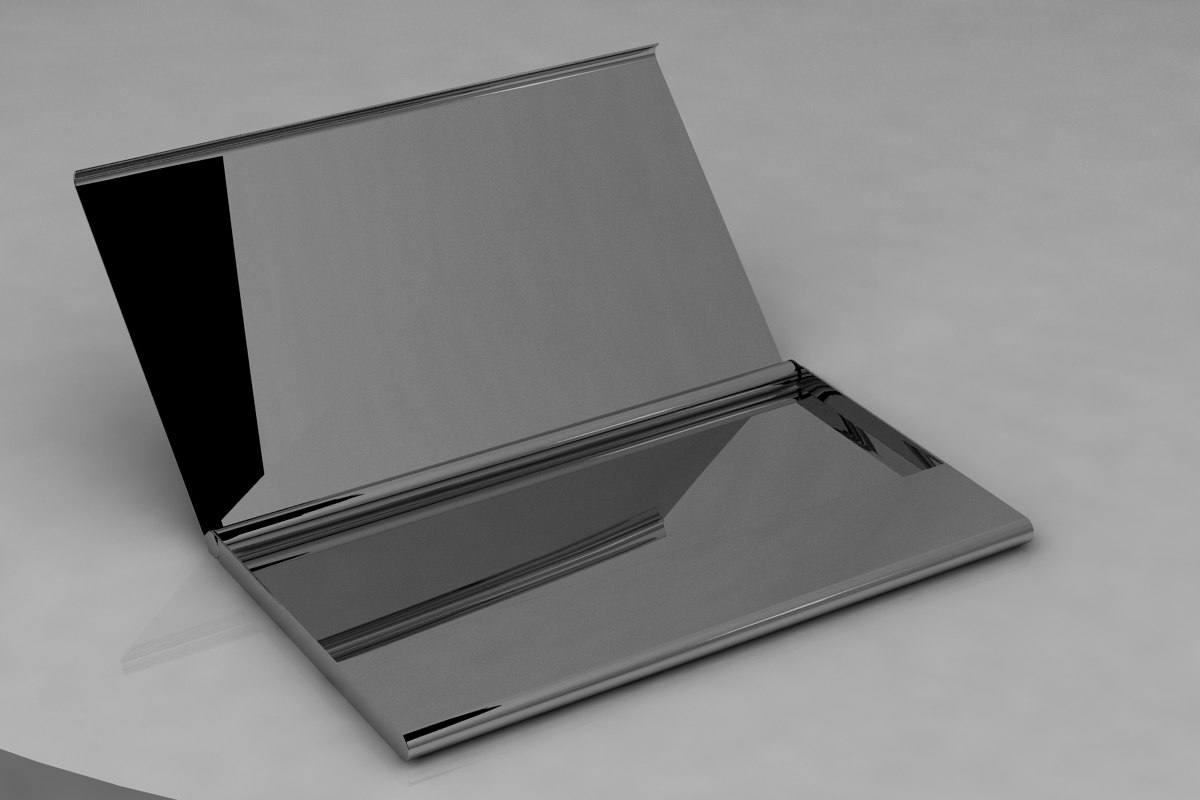 3ds max business card holder