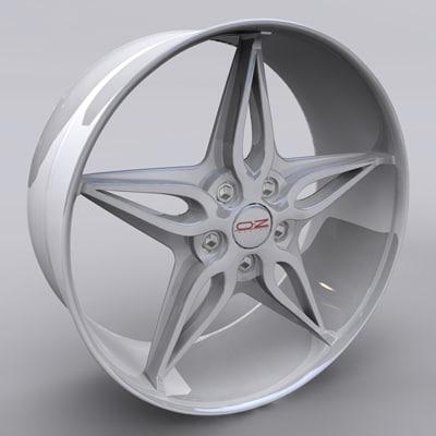3d max alloy wheel