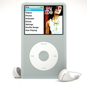 3d model of apple ipod classic