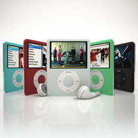 3d apple ipod nano 3g