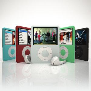 3d apple ipod nano 3g