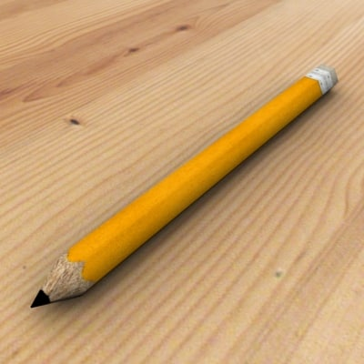 pen pencil 3ds