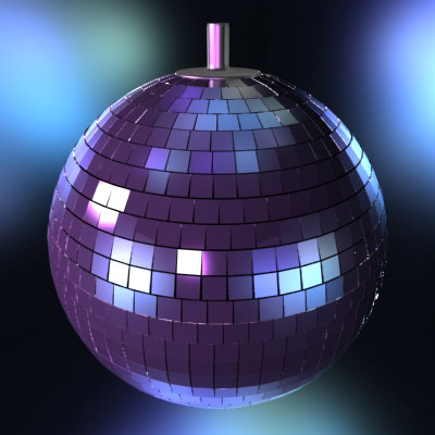 max disco ball lights