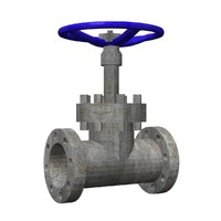 valve 3d obj