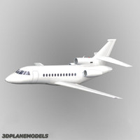 Dassault Falcon 900 Generic white