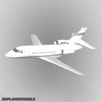 3ds max dassault falcon business jet