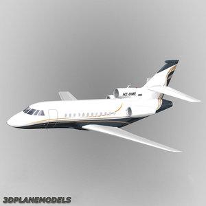 dassault falcon business jet 3ds
