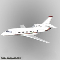 Dassault Falcon 900 Private livery 6