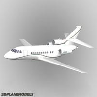 Dassault Falcon 900 Private livery 7