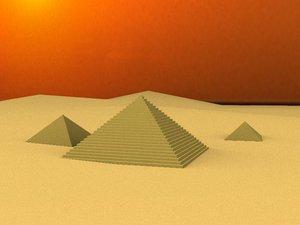 free max model pyramids