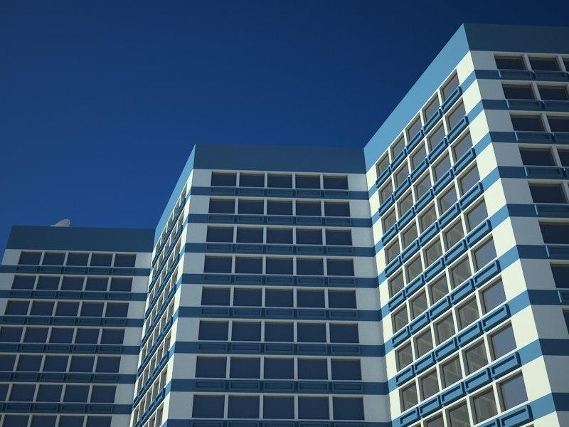 worli apartment 3d model