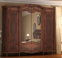 Wardrobe for bedroom with mirror OLD STYLE  (Armadio da camera con specchio)