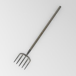 3d lwo pitchfork pitch fork
