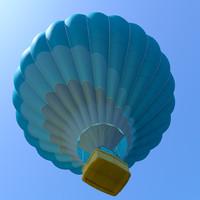3ds max baloon hotair