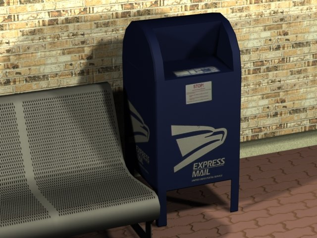3ds post postbox
